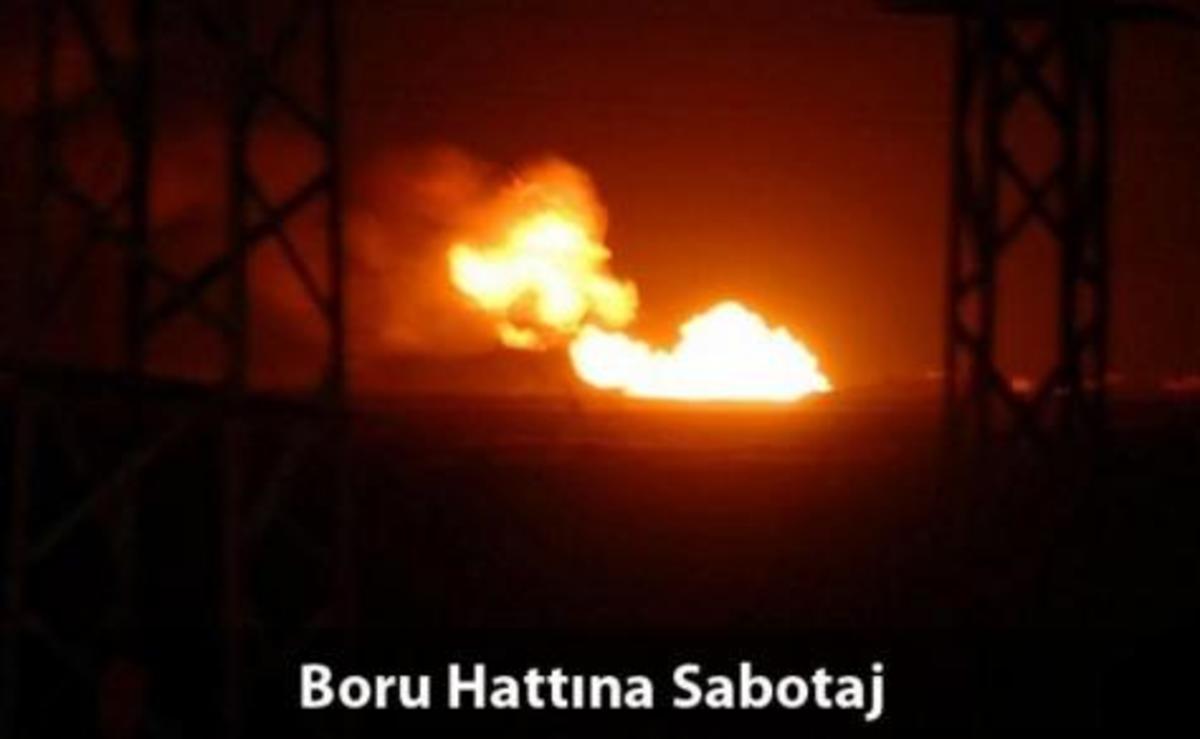 Σε video το σαμποτάζ σε τουρκικό αγωγό | Newsit.gr