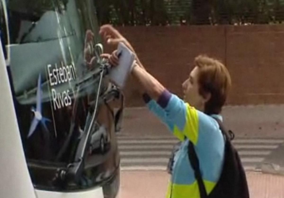 Κλήση στο πούλμαν της Ρεάλ Μαδρίτης – Δείτε το VIDEO | Newsit.gr