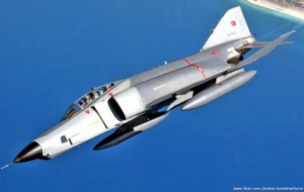 «Το Ισραήλ με «ηλεκτρονική παρεμβολή» έριξε το RF4″, λένε τώρα οι Τούρκοι! | Newsit.gr