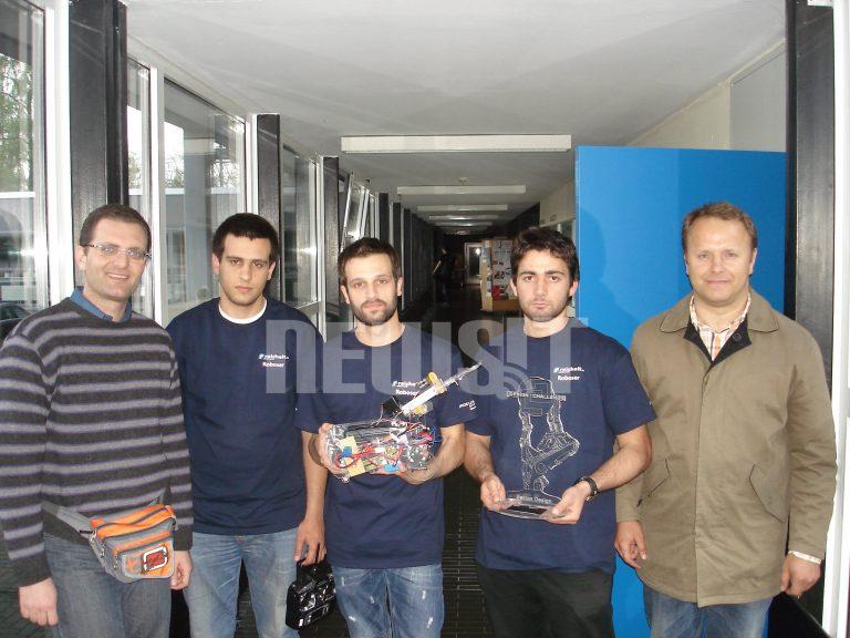 Αθάνατη Ελλάδα! Πήραμε την πρωτιά σε διεθνή διαγωνισμό στη Γερμανία   Newsit.gr