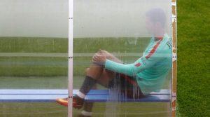 Euro 2016: Ενοχλήσεις στο γόνατο για Κριστιάνο Ρονάλντο!