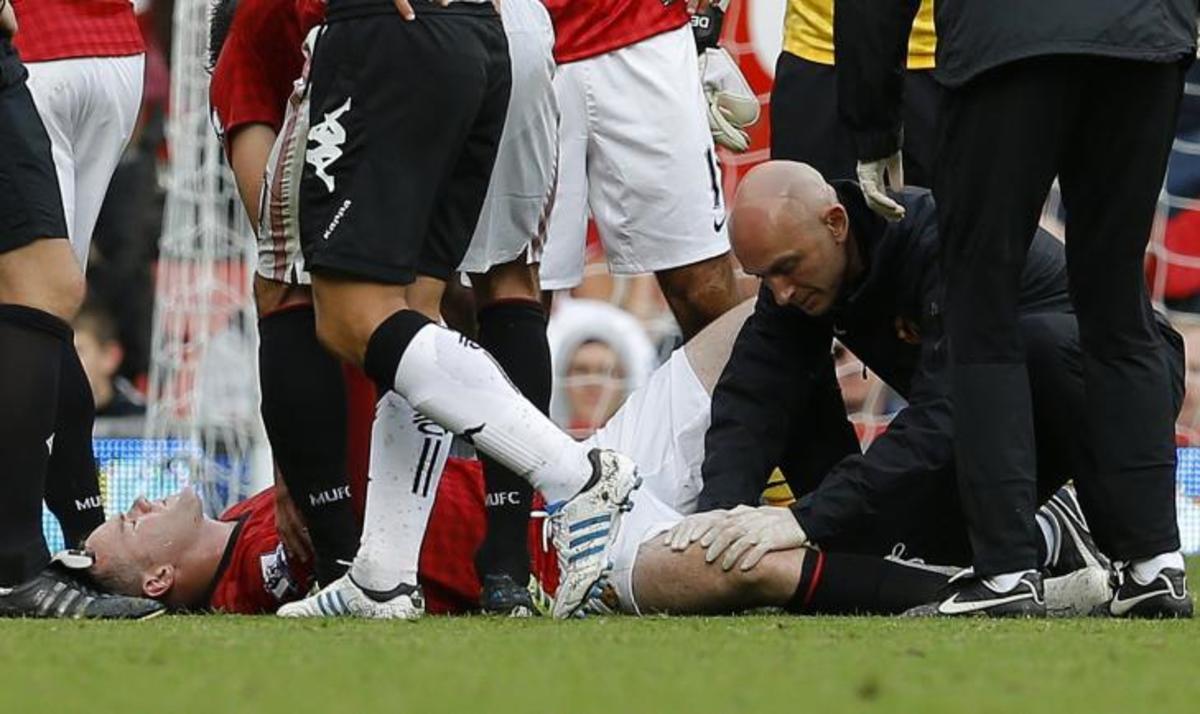 Τραυματίστηκε σοβαρά ο Ρούνεϊ – Δείτε το ΒΙΝΤΕΟ | Newsit.gr