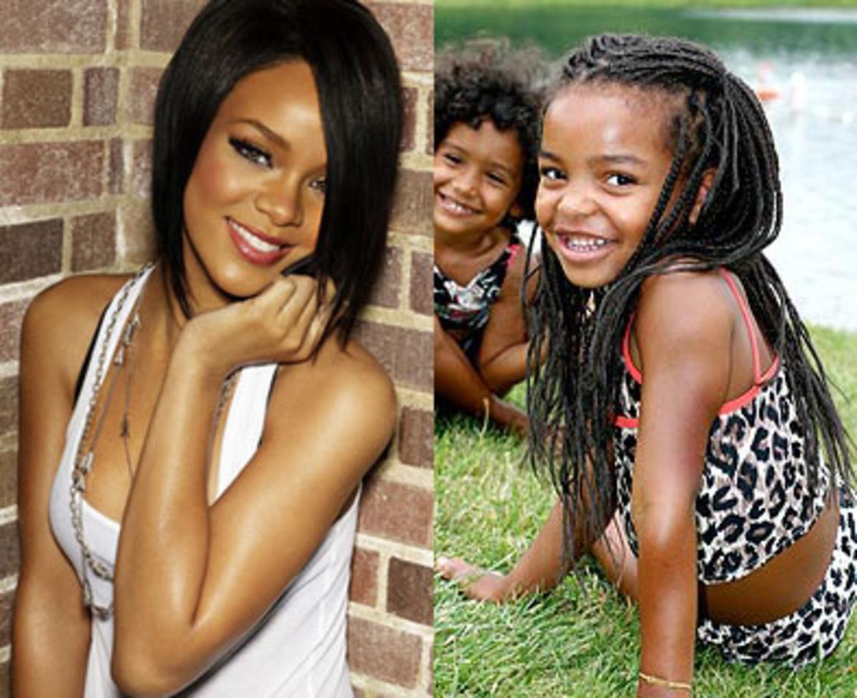 Xρησιμοποίησε η Rihanna τη μικρή Jasmina για δημοσιότητα;   Newsit.gr