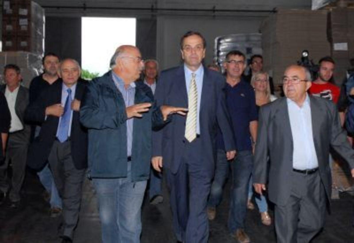 Α.Σαμαράς : Πολιτικά μεταλλαγμένος  ο Πέτρος Τατούλης !   Newsit.gr