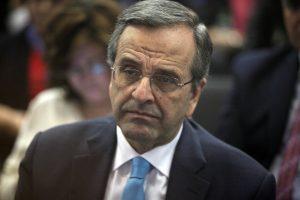 Σαμαράς: Ο ΣΥΡΙΖΑ με ανέτρεψε, όχι ο Σόιμπλε – Δεν φταίνε οι δανειστές αλλά ο Τσίπρας