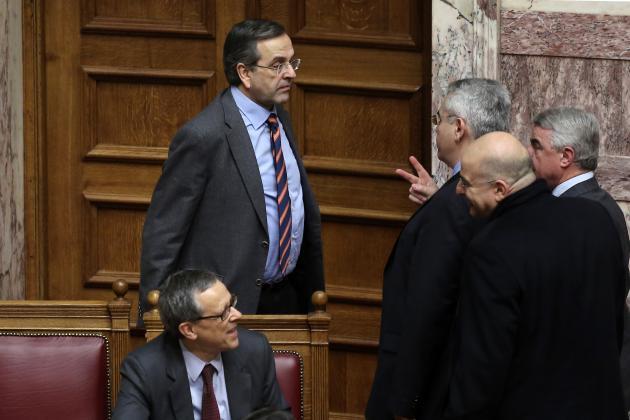 «Μόνο λεφτά μην μου ζητάτε» είπε ο Σαμαράς στους απόστρατους | Newsit.gr