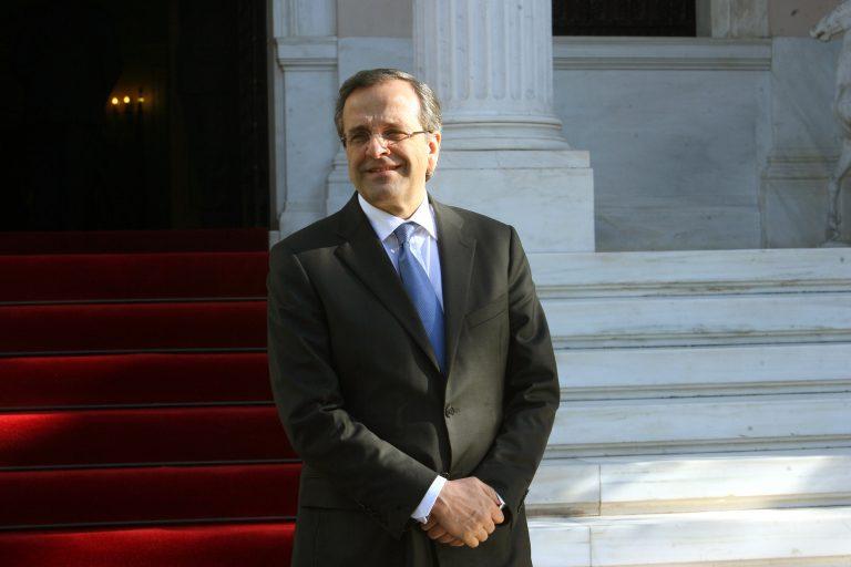 Ο Σαμαράς με εκπροσώπους πολυεθνικών εταιρειών | Newsit.gr