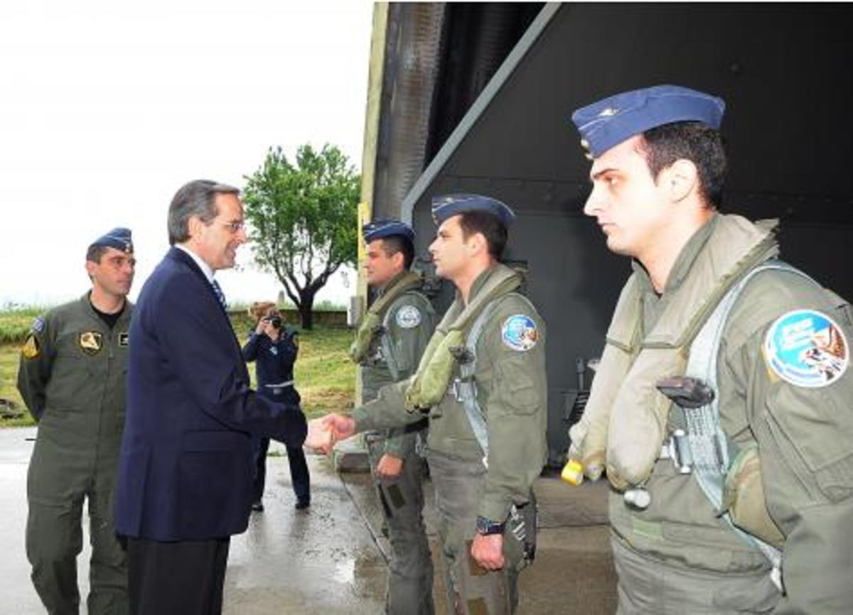 Α.Σαμαράς:»Δεν παραμελούμε την Άμυνα» | Newsit.gr