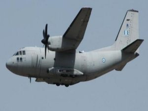 Ατύχημα με αεροσκάφος C27 κατά τη μεταφορά ασθενούς από τη Σαντορίνη!
