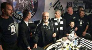 Σαββίδης: «Οι παίκτες του ΠΑΟΚ πρέπει να έχουν κάκαλα»