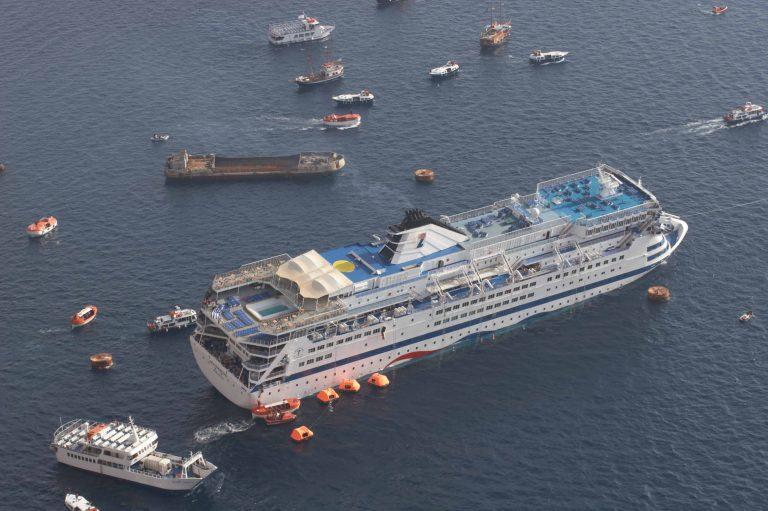 Αναβλήθηκε η ποινική δίκη για το ναυάγιο του κρουαζιερόπλοιου Sea Diamond | Newsit.gr