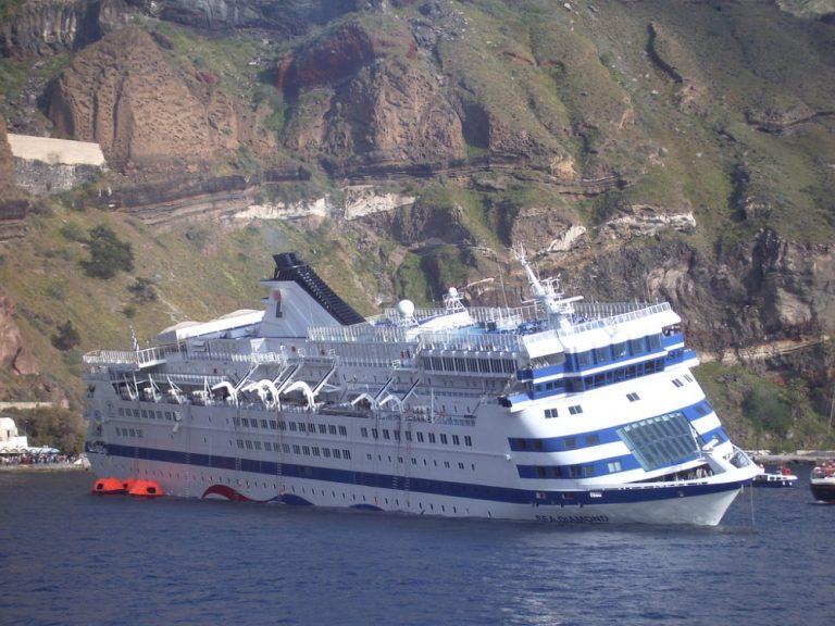 Ξεκίνησε η δίκη για το ναυάγιο του Sea Diamond   Newsit.gr