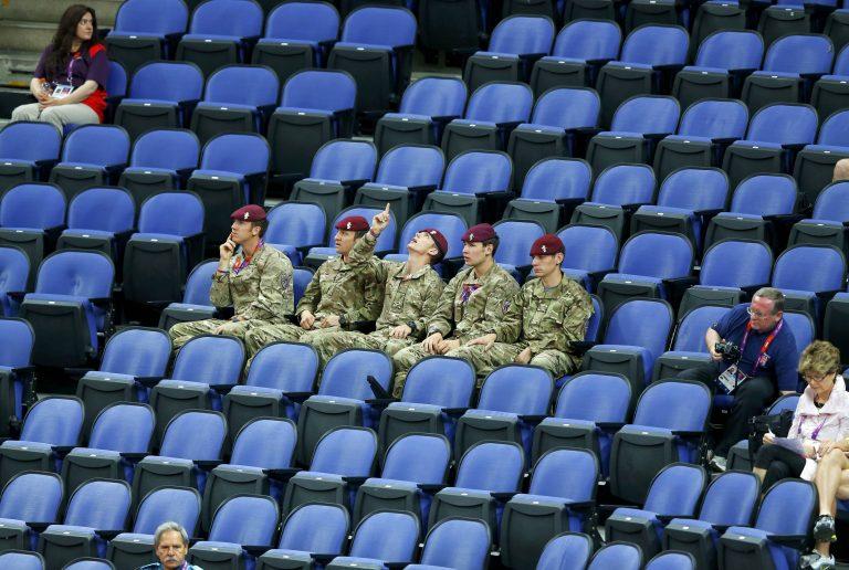 Οι Βρετανοί τα έκαναν… θάλασσα – Άδεια τα καθίσματα στους Ολυμπιακούς Αγώνες | Newsit.gr