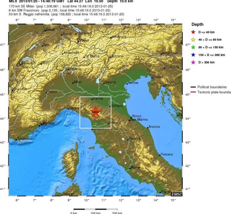 Ισχυρός σεισμός στη βόρεια Ιταλία | Newsit.gr