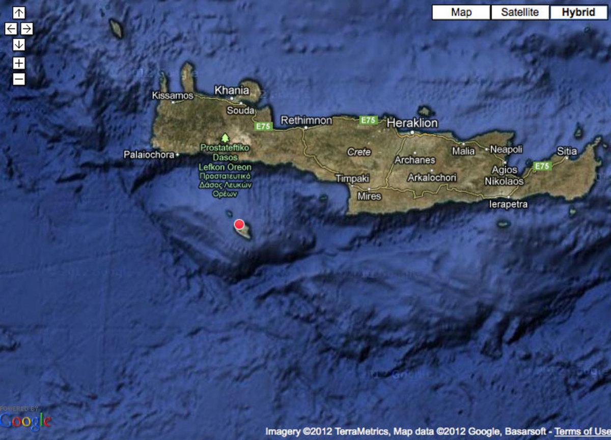 5,3 Ρίχτερ «ξύπνησαν» την Κρήτη – 9 χλμ ΝΑ της Γαύδου το επίκεντρο του σεισμού | Newsit.gr