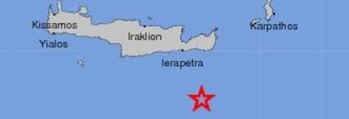 5,1 Ρίχτερ στην Κρήτη | Newsit.gr