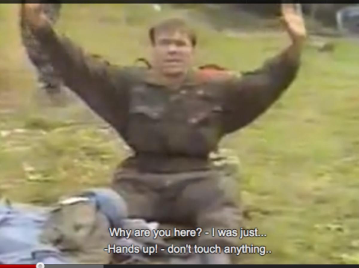 Συγκλονιστικό βίντεο.Σέρβος μαχητής πέφτει στα χέρια Κροατών.Ντοκουμέντο από τον εμφύλιο | Newsit.gr