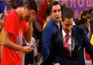 Final Four 2017: Η αγκαλιά του Σφαιρόπουλου στον δακρυσμένο γιο του [vid]
