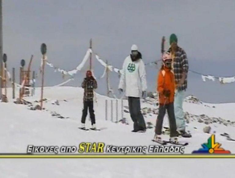 Άνοιξη με… χιόνι και σκι στον Παρνασσό | Newsit.gr