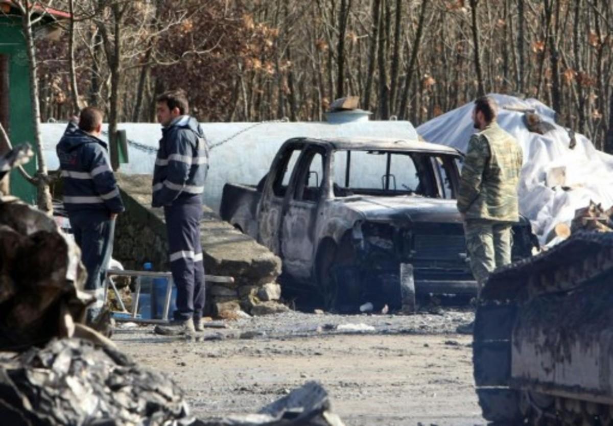 Ταυτοποίησαν 7 άτομα για την επίθεση στα μεταλλεία χρυσού στις Σκουριές   Newsit.gr
