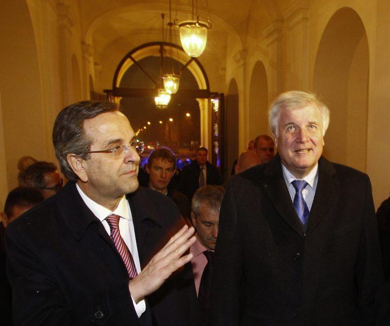 Ο Σαμαράς «μαλάκωσε» λίγο το σκληρό Βαυαρό | Newsit.gr