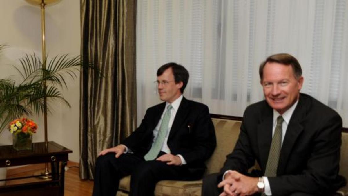 Προεκλογική επίσκεψη του Αμερικανού υπουργού Οικονομικών   Newsit.gr