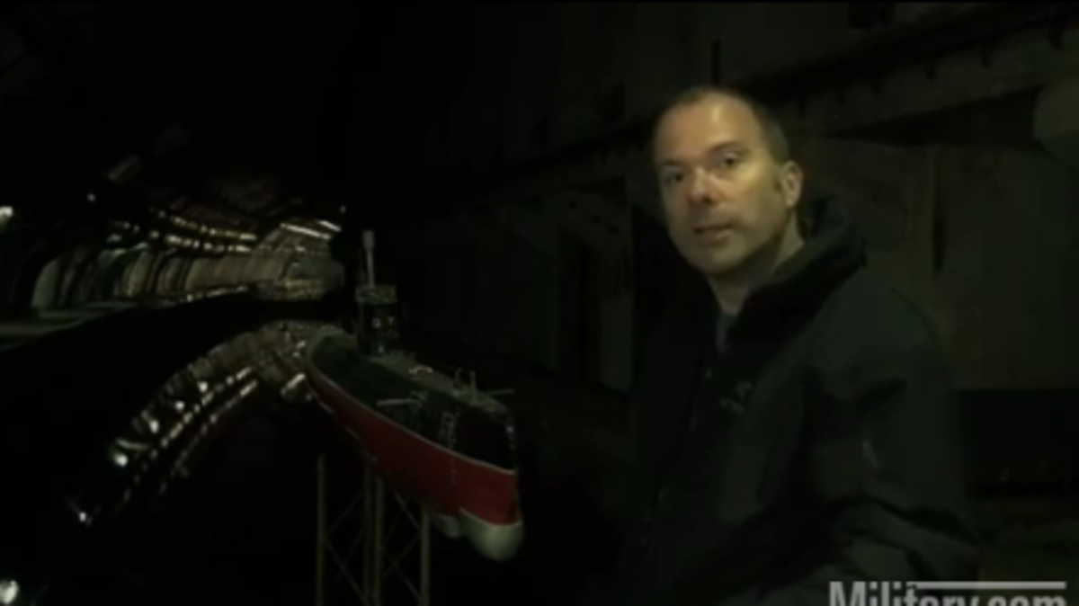 Η μυστική βάση υποβρυχίων των Σοβιετικών!Δείτε τη σε βίντεο από μέσα | Newsit.gr
