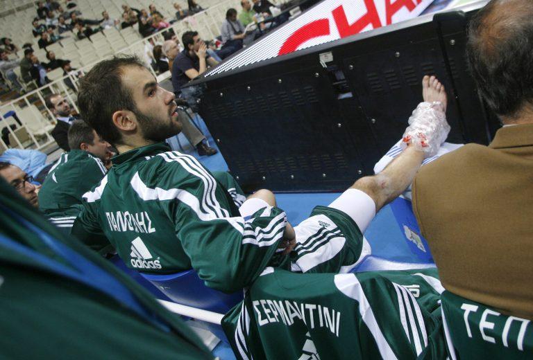 Δύο βδομάδες εκτός ο Σπανούλης | Newsit.gr