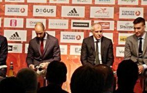 Final Four 2017: Σπανούλης και Ομπράντοβιτς δεν αντάλλαξαν ματιά!