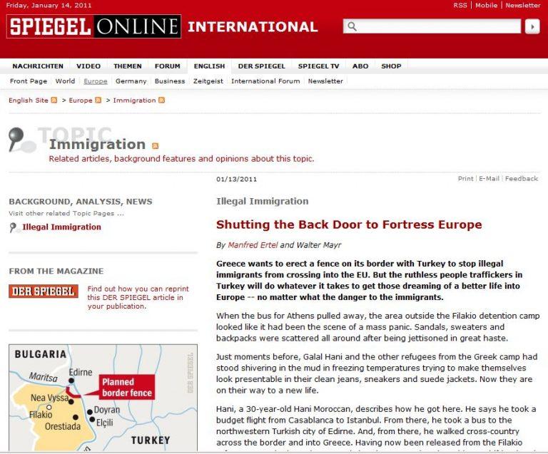 "Spiegel: ""Καλώς ήρθατε στο Ελληνικό Γκουαντάναμο""! | Newsit.gr"