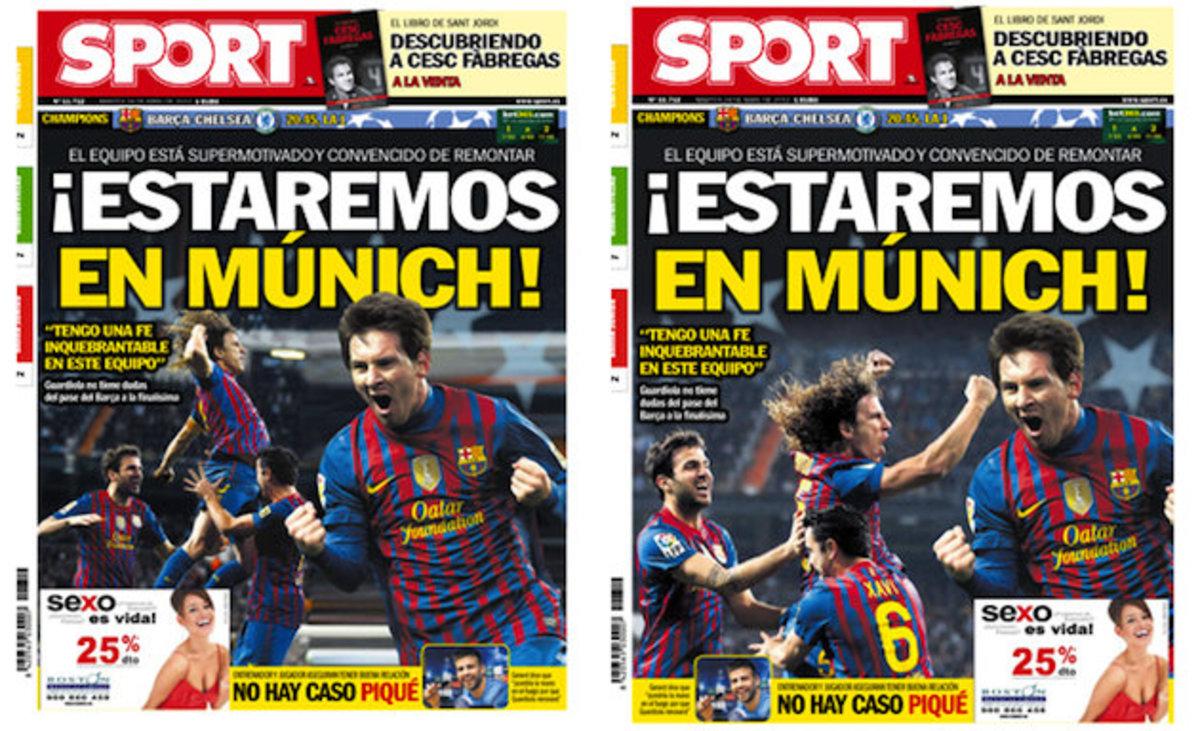 Απέσυρε «προκλητικό» πρωτοσέλιδο για την Μπαρτσελόνα η Sport (ΦΩΤΟ) | Newsit.gr
