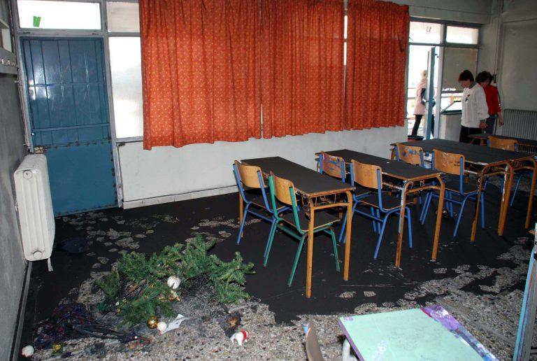 Ρέθυμνο: Μεγάλη φωτιά σε σχολείο! | Newsit.gr