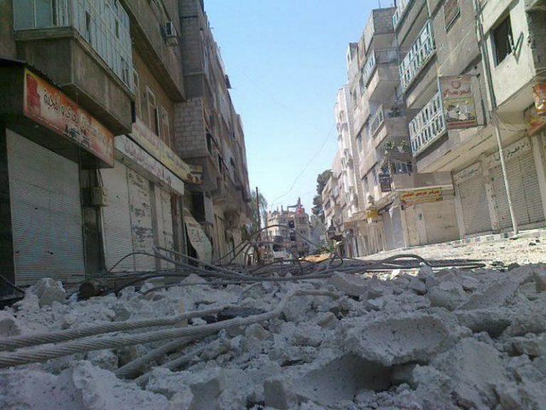 Εξέγερση στις φυλακές της Χομς με 2 νεκρούς   Newsit.gr