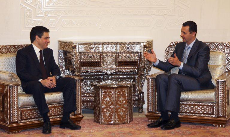 Συνάντηση Μπασάρ Αλ Άσαντ με Φρανσουά Φιγιόν   Newsit.gr