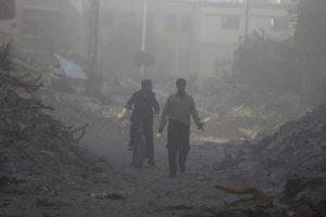 ΠΟΥ για βομβαρδισμό στην Ντούμα: 500 ασθενείς με συμπτώματα επίθεσης με χημικά