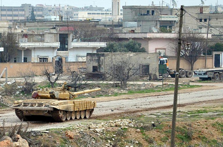 Ισοπεδώνει τη Χομς ο στρατός της Συρίας   Newsit.gr