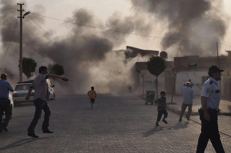 Η οβίδα απο τη Συρία προκαλεί πανικό στην Άγκυρα | Newsit.gr