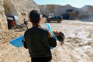 Σαρίν ή παρόμοιο τοξικό αέριο έριξαν στη Συρία