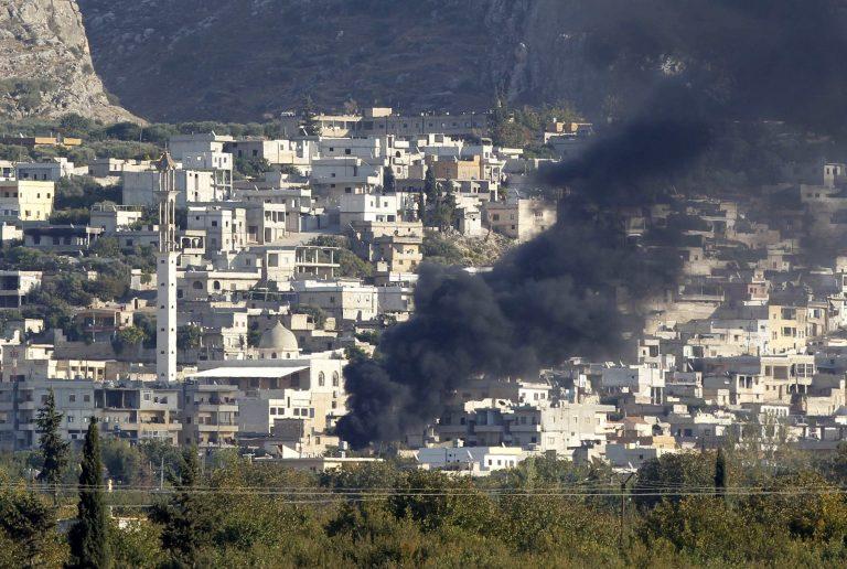 Συρία: Σφοδρές μάχες και αεροπορικές επιδρομές στην περιοχή της Μααρέτ αλ-Νούμαν | Newsit.gr