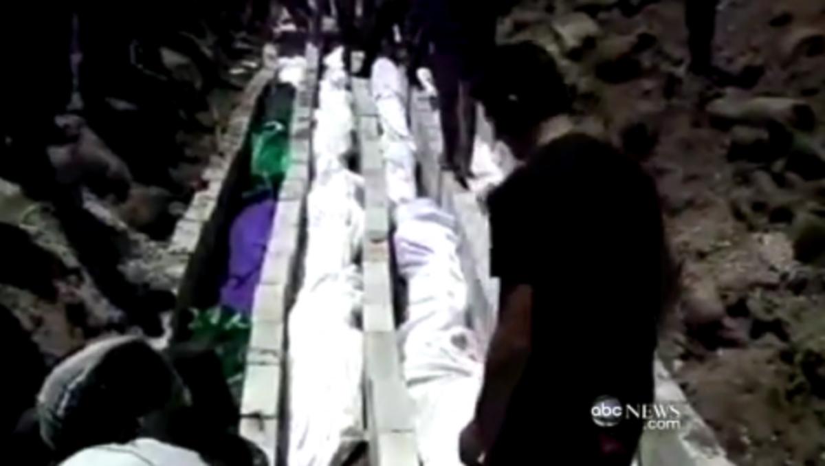 Βίντεο-σοκ του ABC από τη Συρία!32 παιδιά νεκρά! | Newsit.gr