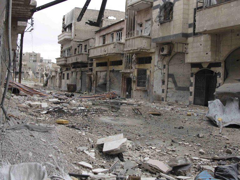 Βομβαρισμοί σε νότιες συνοικίες της Δαμασκού | Newsit.gr