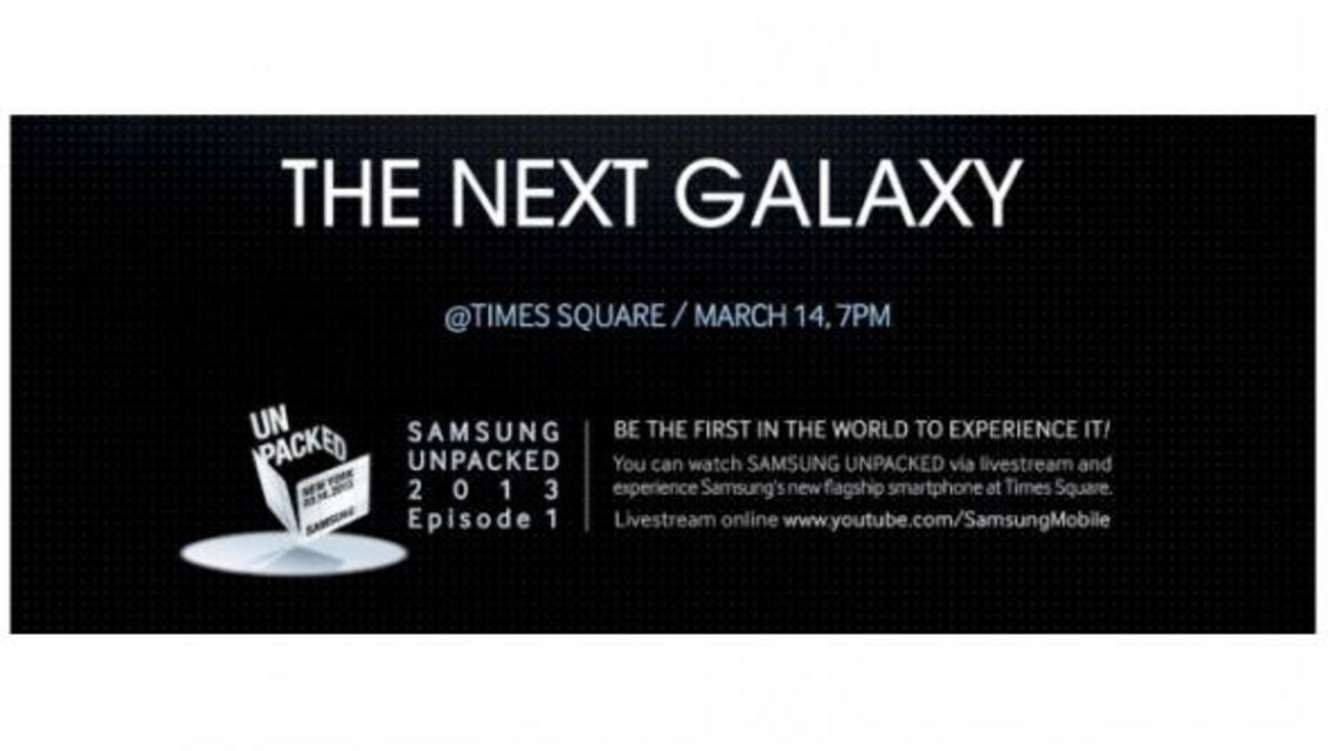 Αυτό είναι το πρώτο teaser για τον ερχομό του Galaxy S4 | Newsit.gr