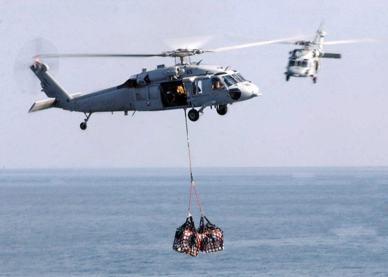 Ελικόπτερο Sea Hawk έσωσε 5 ναυαγούς   Newsit.gr