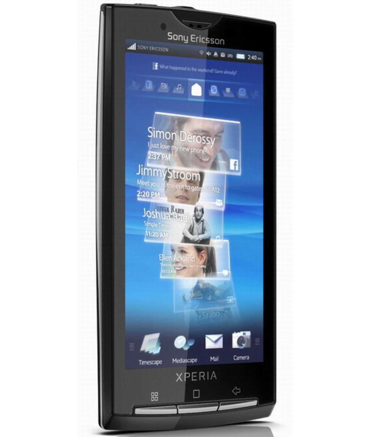Επιτέλους η επίσημη ανακοίνωση για το XPERIA X10 της Sony | Newsit.gr