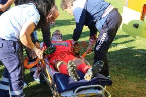 «Πάγωσαν» με τον τραυματισμό του τερματοφύλακα του ΠΑΣ [pics, vid]
