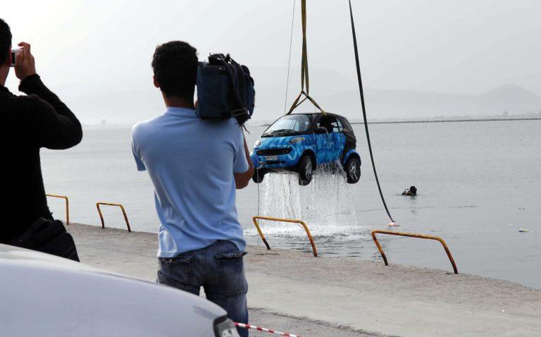 Πύλος: Αυτοκίνητο στη θάλασσα   Newsit.gr