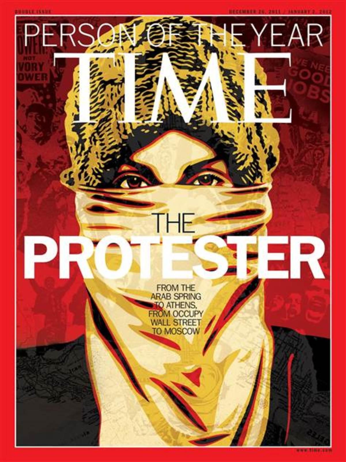 O «ανώνυμος διαδηλωτής» είναι το πρόσωπο της χρονιάς για τους συντάκτες του TIME | Newsit.gr