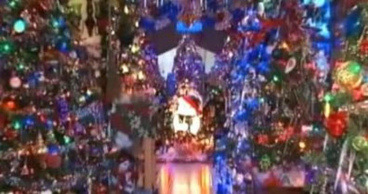 Στόλισαν το σπίτι τους με 68 χριστουγεννιάτικα δέντρα – Έβαλαν ακόμη και στην τουαλέτα (ΒΙΝΤΕΟ)   Newsit.gr