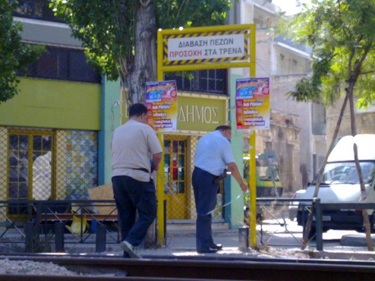 Τρένο παρέσυρε πεζό στην Αθήνα | Newsit.gr