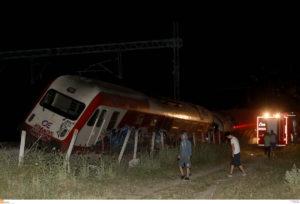 Εκτροχιασμός τρένου: Τουλάχιστον δέκα μέρες για την αποκατάσταση της σιδηροδρομικής γραμμής